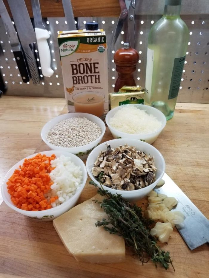 Barley Risotto-Ingredients